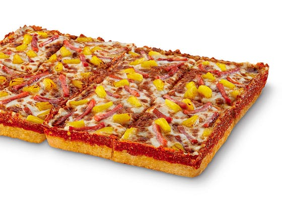 Deep! Deep! Dish Hula Hawaiian Pizza