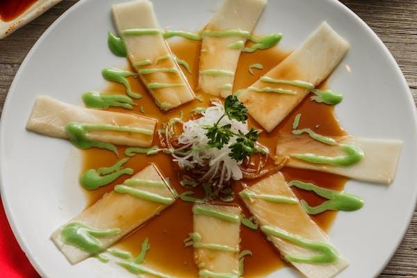 Wasabi White Tuna Appetizer