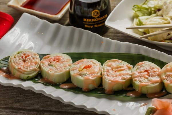 Snow Crab Naruto Roll