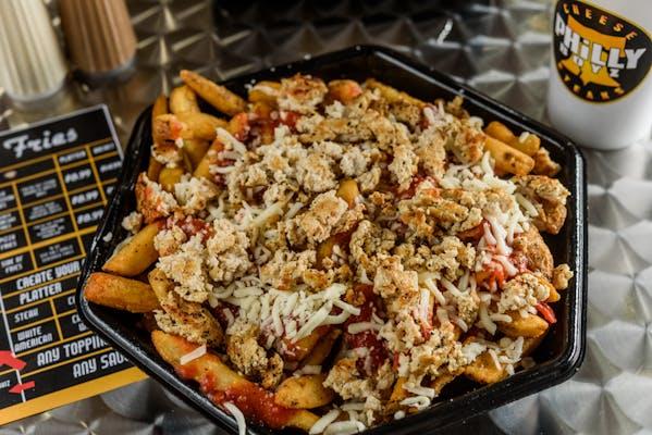 Chicken Parmesan Fries