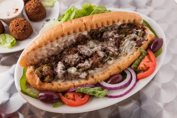 10. Philly Cheesesteak Sandwich