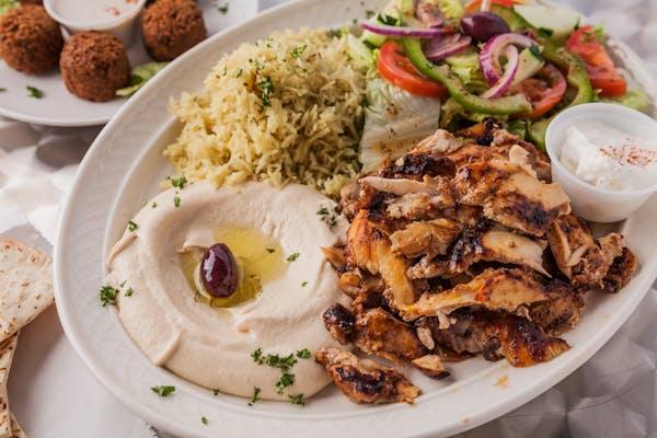 11. Chicken Shawarma Platter