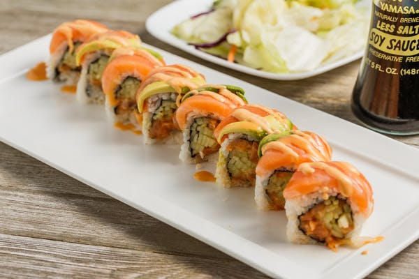 Double Salmon Roll