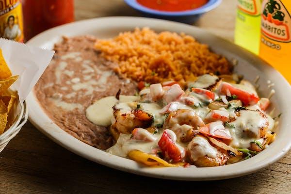 M4. Shrimp Enchiladas Entrée