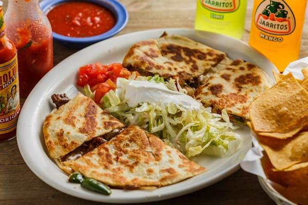 5. Fajita Quesadillas Dinner