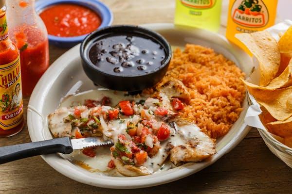 15. Pollo a la Mexicana Dinner