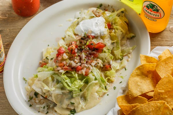 """""""El Rey"""" Burrito"""