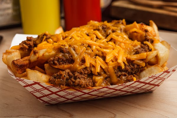 Chili Cheese Fries (Large)