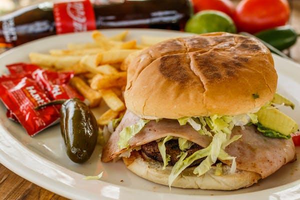 Mexican Hamburger & Fries