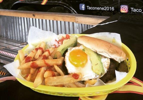 Poochie Burger & Fries