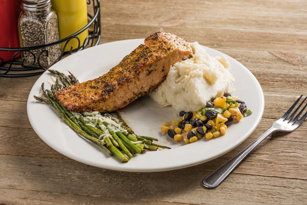 Wild-Caught Pan-Seared Salmon