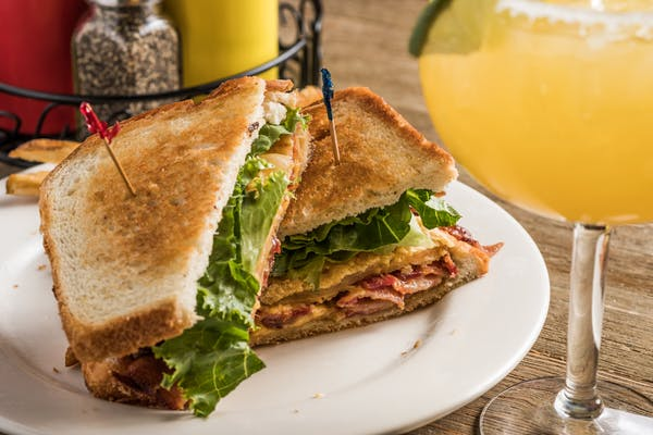 Fried Green Tomato BLC Sandwich