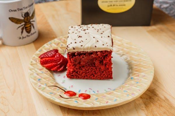 Sensational Red Velvet Cake