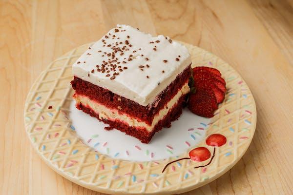 Sensational Twin Red Velvet Cake