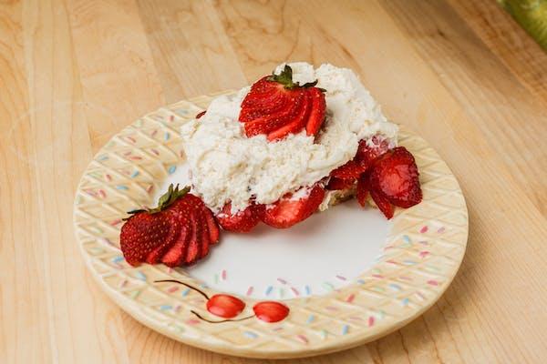 Outrageous Strawberry Shortcake