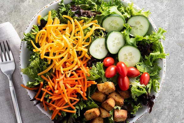 Garden Salad with Choice of Protein