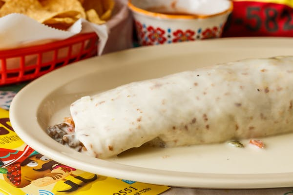 Cheese King Burrito