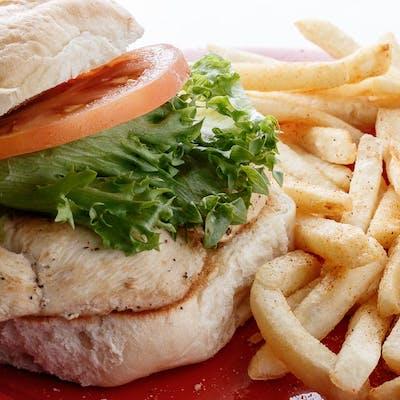 The Chicken Sammy & French Fries
