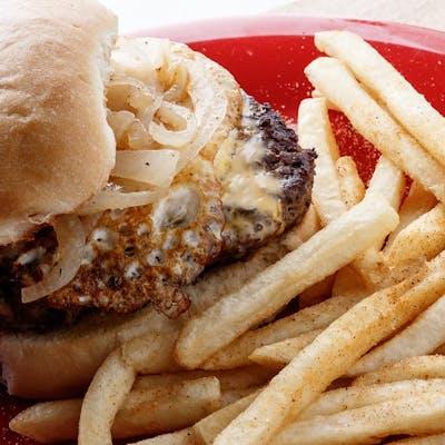 The Hangover Burger & Fries