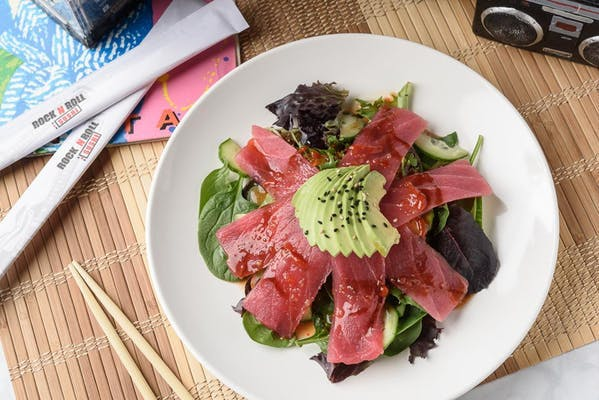 Spicy Tuna Sashimi Salad