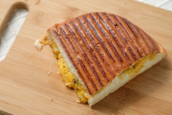 Grilled Triple Cheese Panini