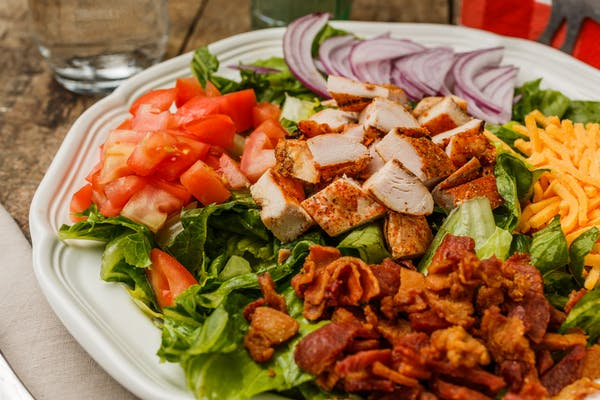Seared Chicken Bacon Salad