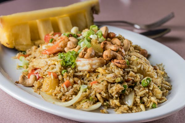 38. Thai Cuisine Pineapple Fried Rice