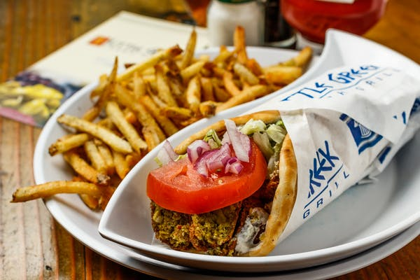 Falafel Pita or Wrap