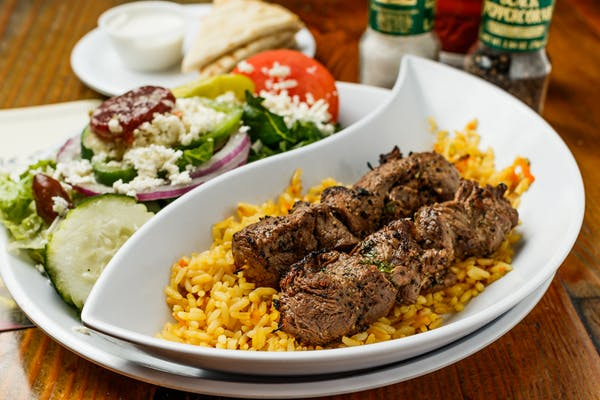 Steak Skewers Platter