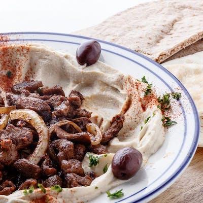 Athena's Meaty Hummus