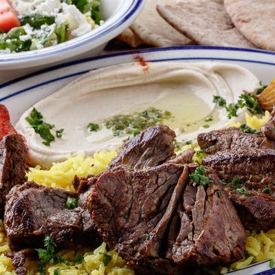 Beef Kabobs Plate