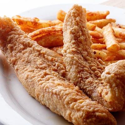 Kid's Crunchy Fried Fish
