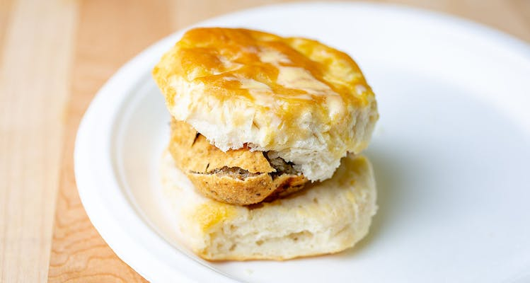 Boudin Ball Biscuit