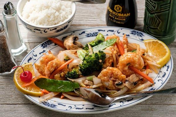 23. Szechuan Shrimp