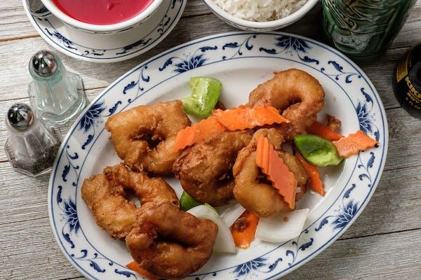 32. Sweet & Sour Shrimp