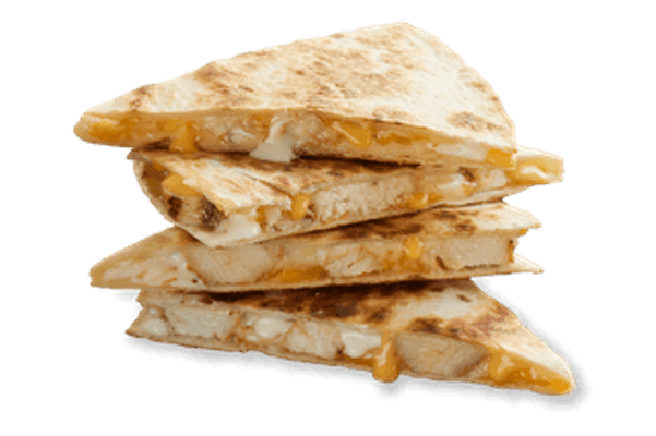 Three Cheese Chicken Quesadilla