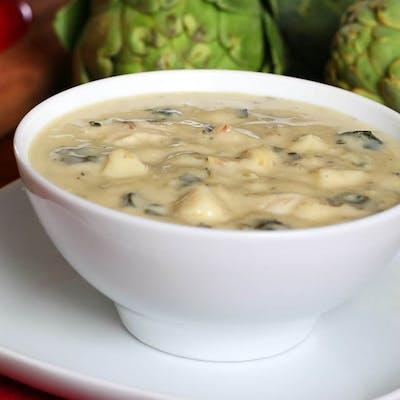 Chicken Artichoke Florentine Soup