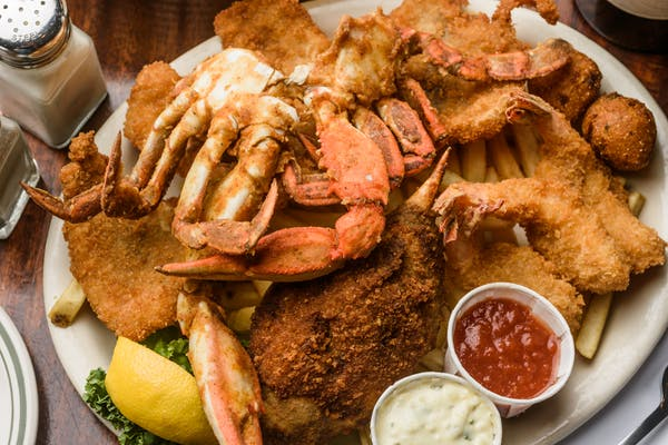 Combination Seafood Platter