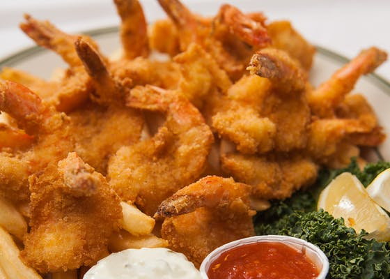 Fried Jumbo Shrimp