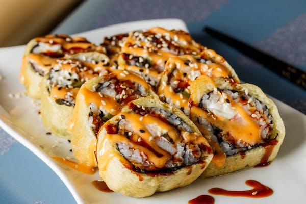 Fried X'Mas Roll