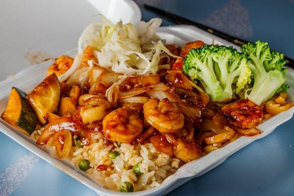#3 Shrimp Teriyaki