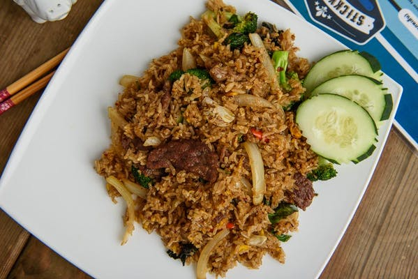 Nam-Prik-Pao Fried Rice