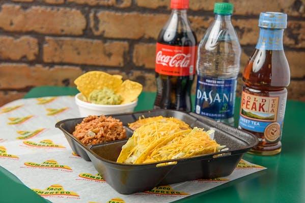 Taco Plate Coca Cola Combo