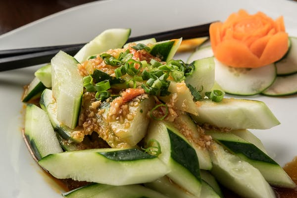 5. Szechuan Style Cucumber