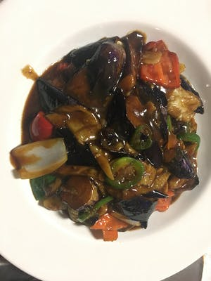 57. Braised Eggplants