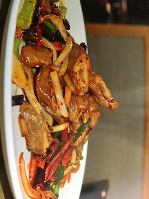 108. Stir-Fried Pig Intestine