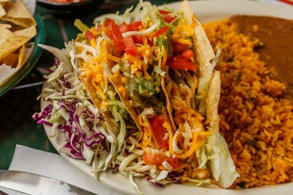 Two Crispy Tacos