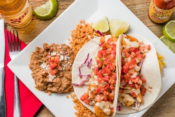 Shrimp Tacos el Rey