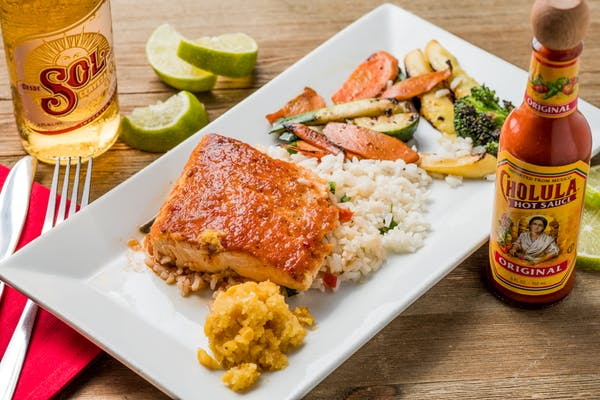 Caramelized Chipotle Grilled Salmon