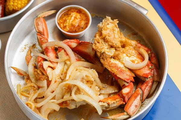 (2) Boiled Dungeness Crabs Platter